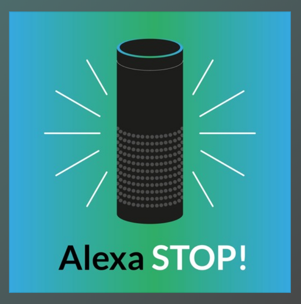 On the air: Alexa Stop podcast